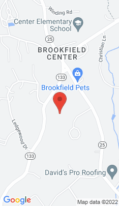 Map of Single Family Home on 8 Aramon Circle,Brookfield, CT