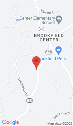 Map of Condo Home on 10 Ledgewood Drive,Brookfield, CT