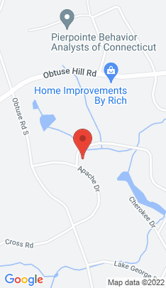 Map of Single Family Home on 44 Arapaho Road,Brookfield, CT