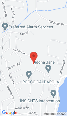 Map of Single Family Home on 19 Hudson Drive,New Fairfield, CT