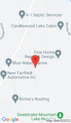 Map of Single Family Home on 1 Windward Drive,New Fairfield, CT
