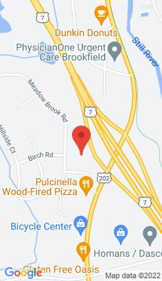 Map of Residential Property on 20 Orchard Street,Brookfield, CT
