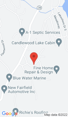 Map of Single Family Home on 30 Sweetcake Mountain Road,New Fairfield, CT