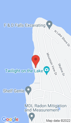 Map of Single Family Home on 160 North Lake Shore Drive,Brookfield, CT