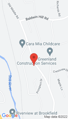 Map of Single Family Home on 10 Old Middle Road,Brookfield, CT
