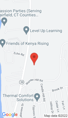 Map of Single Family Home on 8 Sears Drive,Sherman, CT