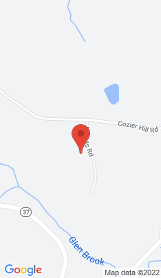 Map of Single Family Home on 2 Woods Road,Sherman, CT