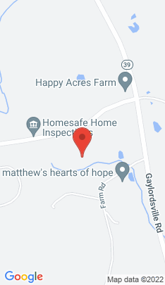 Map of Single Family Home on 3 Taber Road,Sherman, CT