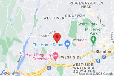 Map of Palmer Hill Condominium Complex, in Stamford CT
