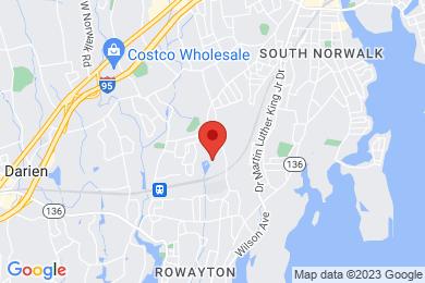 Map of Rowayton Woods Condominium Complex, in Norwalk CT