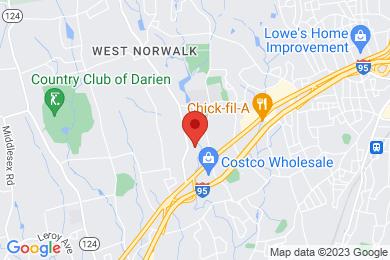Map of Mallard's Landing Condominium Complex, in Norwalk CT