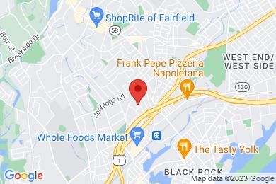 Map of Sunrise Condominium Complex, in Fairfield CT