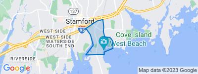 Map of Shippan, Stamford CT