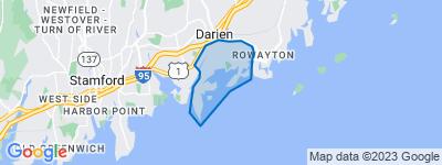 Map of Tokeneke, Darien CT