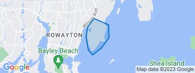 Map of Wilson Point, Norwalk CT