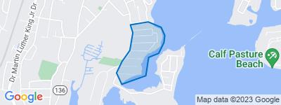 Map of Harbor Shores, Norwalk CT