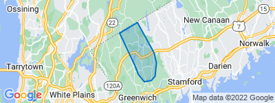 Map of Stanwich, Greenwich CT