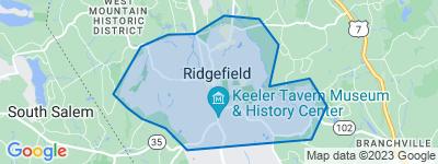 Map of Village Center, Ridgefield CT