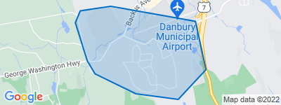 Map of Miry Brook, Danbury CT