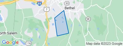 Map of Long Ridge, Danbury CT