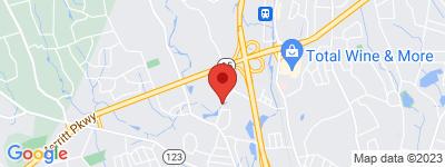 Map of The Falls Condo Complex, in Silver Creek Ln Norwalk CT