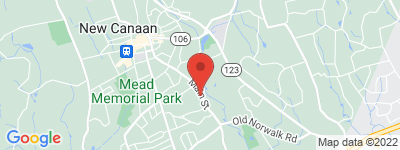 Map of King's Grant Condo Complex, in 377 Main St New Canaan CT