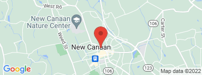 Map of Church Hill Walk Condo Complex, in 43 Main St New Canaan New Canaan CT