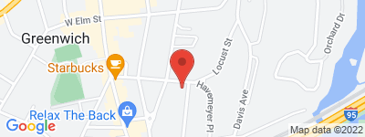 Map of Havemeyer Ridge Condo Complex, in 70 Havemeyer Place Greenwich CT