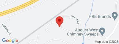 Map of Saugatuck Landing Condo Complex, in Heron Rd Norwalk CT