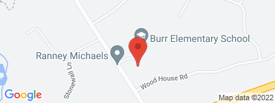 Map of  Burr Court  Condo Complex, in Burr St Fairfield CT