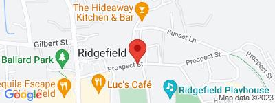 Map of Prospect Hill Condo Complex, in 43 Prospect St Ridgefield CT