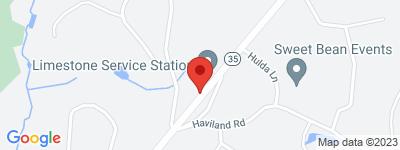 Map of Village at Ridgefield Condo Complex, in Danbury Road Ridgefield CT
