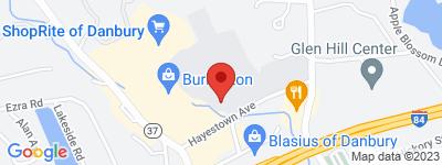 Map of Poet's Landing Condo Complex, in Hayestown Ave Danbury CT