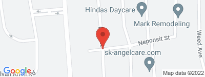 Map of Dora Landing Condo Complex, in Dora St Stamford CT