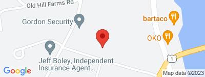 Map of Riverside Walk Condo Complex, in Cross St Westport CT