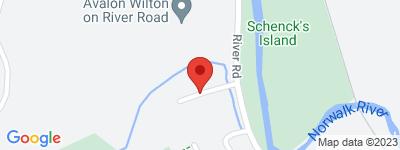 Map of Village Walk Condo Complex, in Village Walk Wilton CT