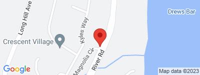 Map of Crescent Village Condo Complex, in 731-735 River Rd Shelton CT