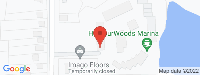 Map of Harbor Woods  Condo Complex, in Harbourview Place Stratford CT