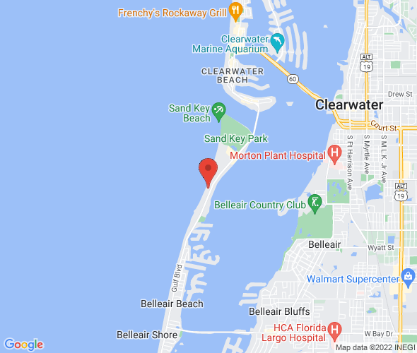 Gulf Blvd  Clearwater Beach Fl