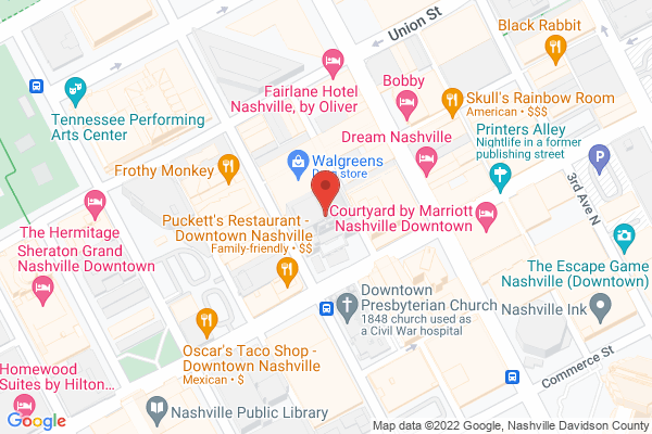 Mapped location of Booking.com