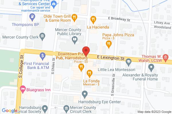 Mapped location of Kentucky Souvenir Sales Company