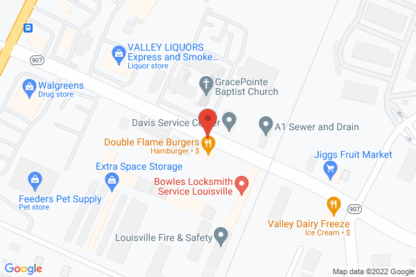 Mapped location of Joe & Kathy's Place