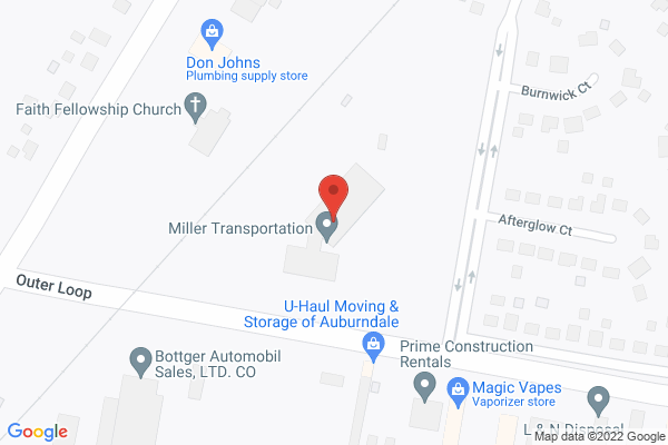 Mapped location of Miller Black