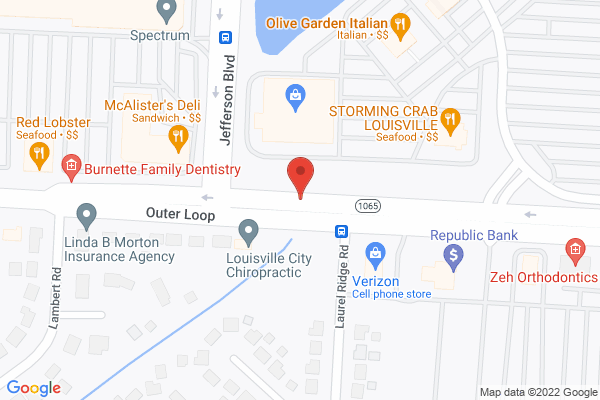 Mapped location of McAlister's Deli