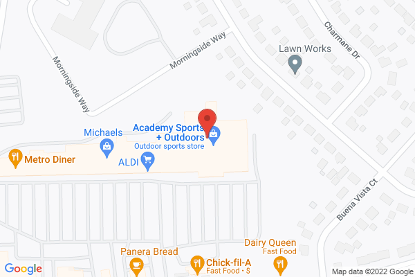 Mapped location of Metro Diner