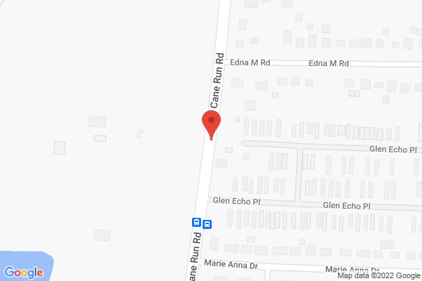 Mapped location of J. Harrod's