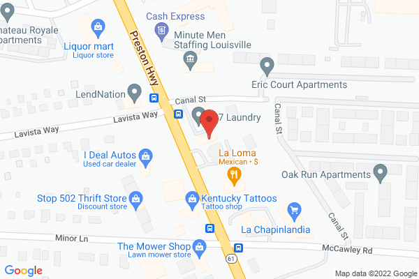 Mapped location of China Garden