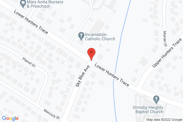 Mapped location of Harbor House of Louisville