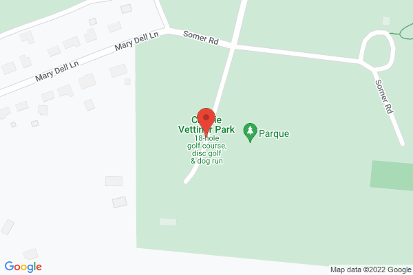 Mapped location of Charlie Vettiner Park