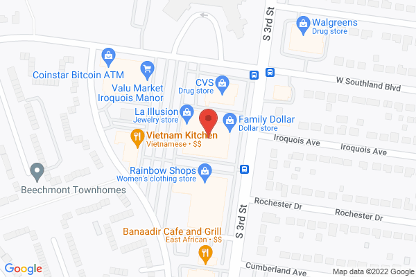 Mapped location of Hong Kong Fast Food
